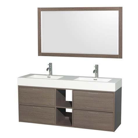 great kitchen sinks wyndham collection 60 in w x 18 in d vanity in 1342