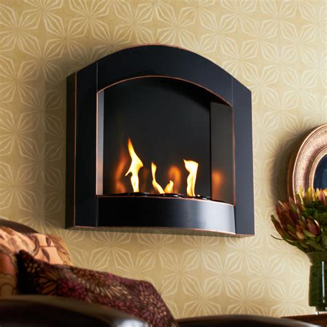 amazoncom sei black arch top wall mount gel fuel