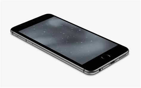 Space-grey Wallpaper For Iphone 6 And 6 Plus By