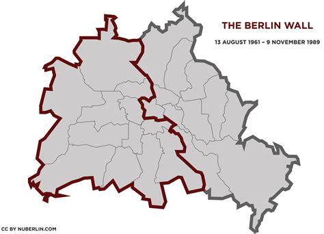 berlin wall map roundtripticket me