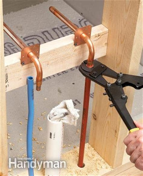 Replacing copper pipe with PEX   DoItYourself.com