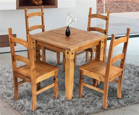 muebles comedor madera maciza linea mexicana  sillas