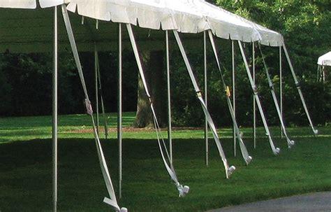 anchoring bracing tent jack economy tent international