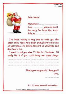 Write a letter to santa clause letter of recommendation for Letters to santa clause