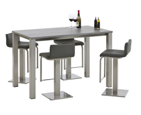 table de cuisine bar haute table de bar haute rectangulaire