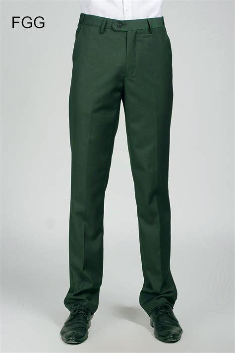 groom wedding dress straight green pants party prom men
