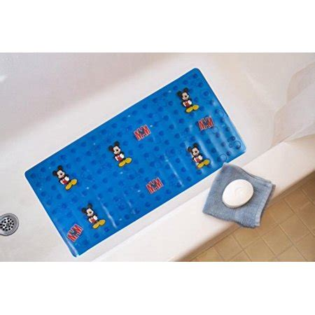 mickey mouse bath mat mickey micromolded bath mat clubhouse mouse walmart