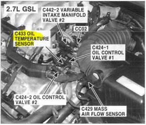 Location Of Oil Temp Sensor In  U0026 39 07 Kia Rondo V6