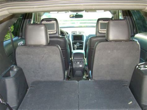 ford explorer rear captains chairs buy used 2013 ford explorer sport ecoboost navigation dvd