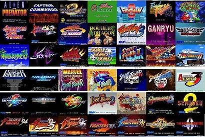 Games Kawaks Capcom Arcade Retro Emulator Console