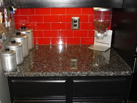 Best Red Mosaic Tile Style