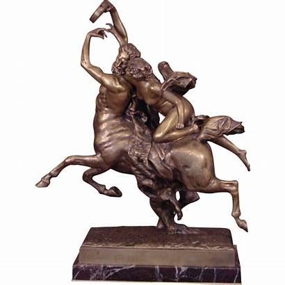 Centaur Nessus Deianeira Beverly Bronze Superb Gilt