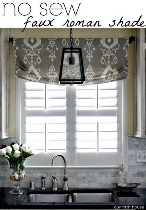 kitchen window coverings ideas creative kitchen window treatment ideas hative