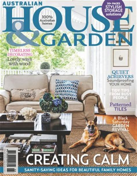 australian house garden magazine february 2015 issue