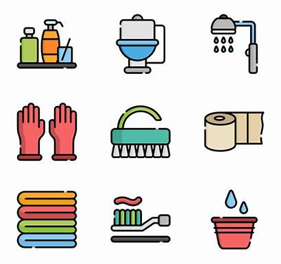 Bathroom Clipart Toilet Icon Bowl Potty Cleaning