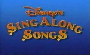 Disney Sing-Along Songs - Wikipedia