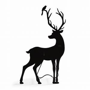 Deer Silhouette, Buck | Grandin Road