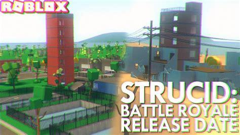 strucid battle royale release date roblox youtube