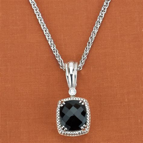designer jewelry brands charles krypell sterling silver 14k white gold black