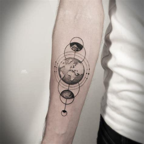 Geometric Tattoos By Mark Ostein