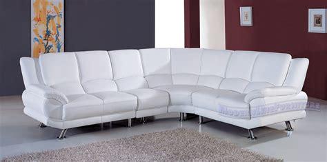 White Modern Sofas Contemporary Sofas Modern Sectional