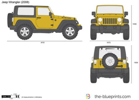 4 door jeep drawing the blueprints com vector drawing jeep wrangler