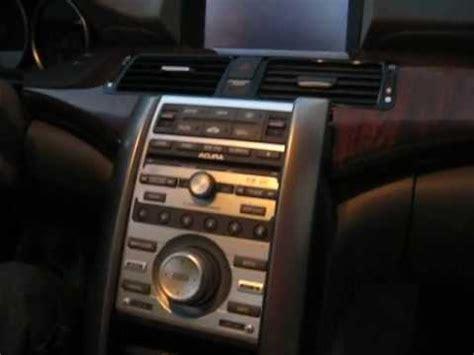 remove radio navigation cd changer  acura
