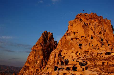 foto galerie uchisar kappadokien tuerkei taeler und
