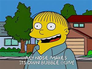 Simpsons Ralph ... Chief Wiggins Quotes
