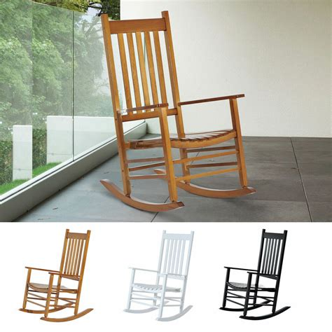 Outdoor Balcony Chairs wooden rocking chair porch rocker balcony deck outdoor