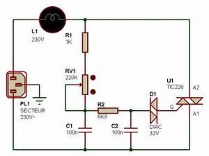 Variateur De Lumiere Led : electronique realisations gradateur lumiere 001 ~ Dailycaller-alerts.com Idées de Décoration