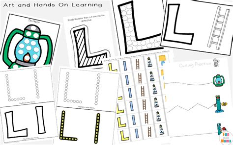 letter l worksheets words with 976 | Letter L Learning Pack Art and Hands On Learning