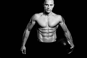 Ripped Male Body With Abs