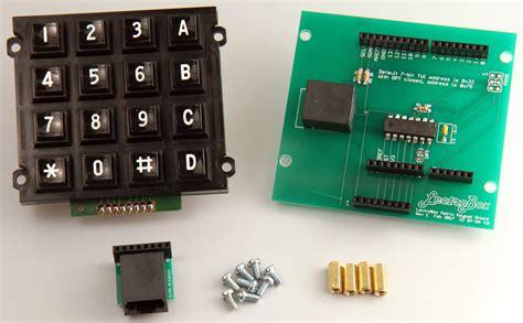 arduino keypad shield   button matrix keypad