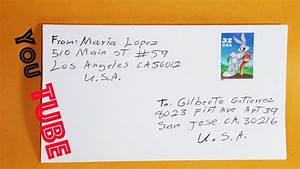 COMO ENVIAR UNA CARTA POR CORREO POSTAL(EN USA)(COMO ...