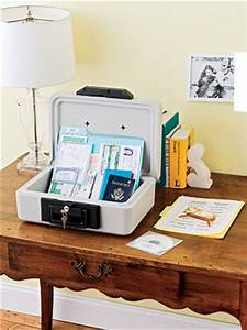 organize important papers store financial and legal With box for important documents