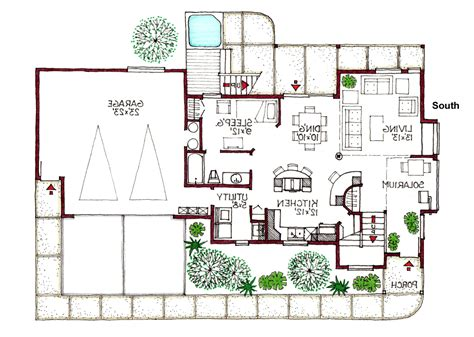 green home floor plans green homes house plans home deco plans