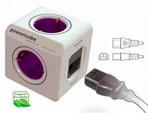Multiprise Avec Usb : multiprise 2p et usb avec adaptateurs de voyage powercube ~ Melissatoandfro.com Idées de Décoration