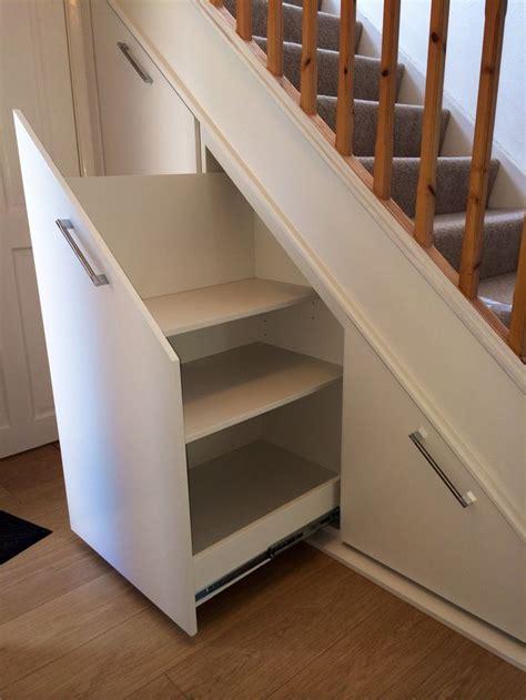 stairs kitchen storage understair storage pull out drawers stair 6569