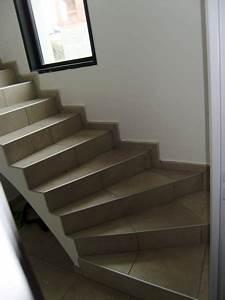 Escalier En Colimaçon Pas Cher : habillage en carrelage d 39 un escalier balanc amorena ~ Premium-room.com Idées de Décoration