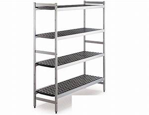 etagere alu ht1m80 chambre froide world chr pro With montage etagere chambre froide