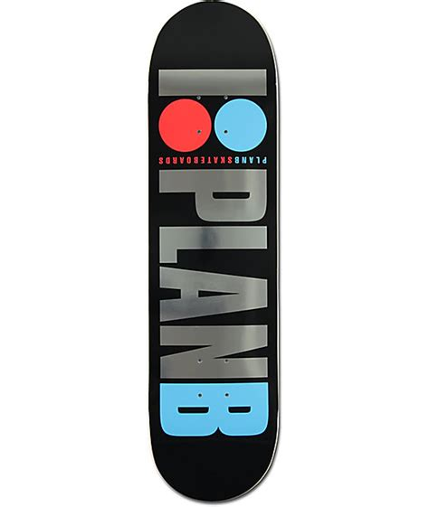 "Plan B Team Og Foil 80"" Skateboard Deck"