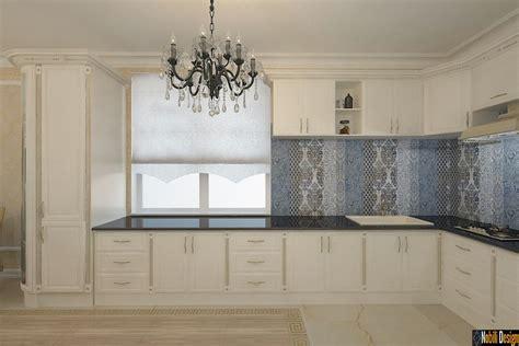 amenajari interioare bucatarii case clasice concept