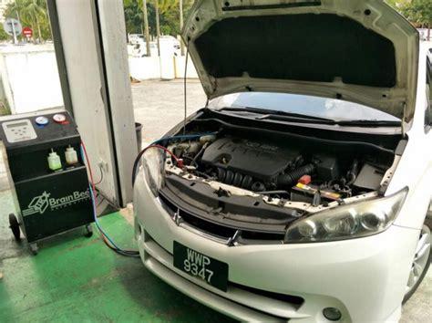aircond  sejuk  nak servis acs car service