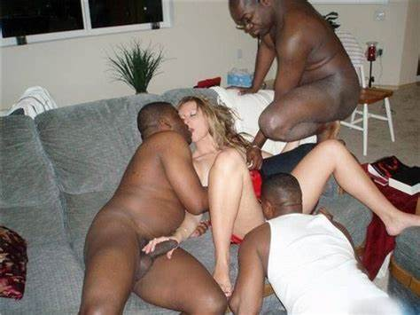 Blond Granny Drill By Party Red Hair Guys Interracial Shocking