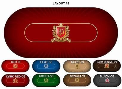 Poker Custom Table Layout Americangamingsupply Hold Em