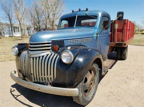 truck chevy grain 1941 chevrolet 1942 1946 1945 ton dump patina farm ford pickups dodge classic