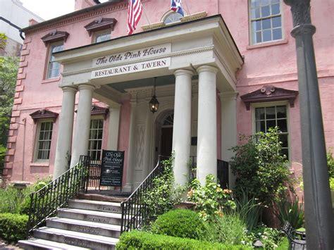 olde savannah restaurants pink georgia gafollowers