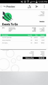invoice2go plus invoice app screenshot With invoice to go app