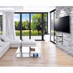 Wandregal Für Fernseher : dvd hifi glas regal media konsole tv wandhalterung ~ Michelbontemps.com Haus und Dekorationen